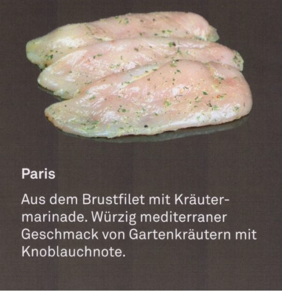 "Hähnchen Filetstaek ""Paris"""