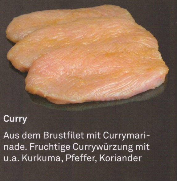 "Puten – Filetsteak ""Curry"""